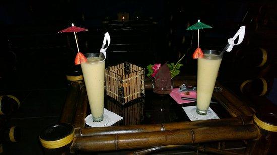 TikiVillas Rainforest Lodge: Banana Colada's