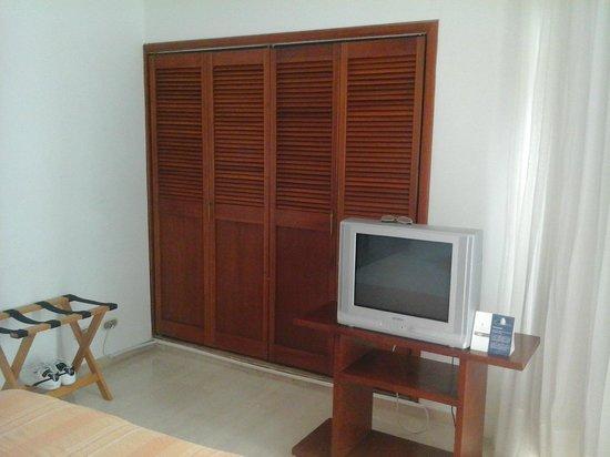Hotel Regatta Cartagena: muy amplios y comodos