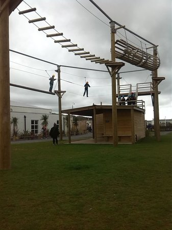 Presthaven Holiday Park: aerial extream