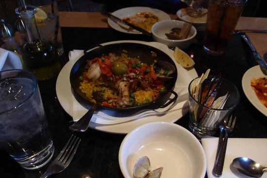 The Mediterranean Restaurant: Our Paella, we had just started serving it.