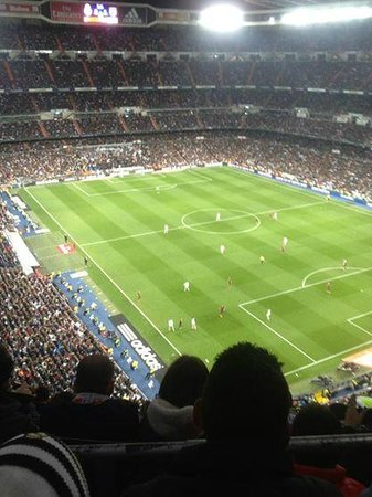 Santiago-Bernabéu-Stadion: Santiago