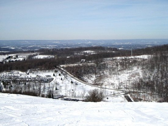 Roundtop Mountain Resort: View from top