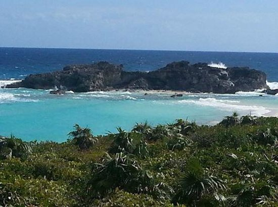 Blue Horizon Resort: View from the trail