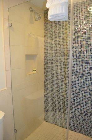 Silver Palms Inn : salle de bain à l'italienne