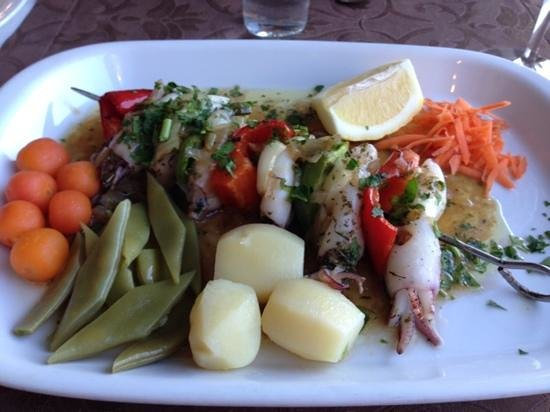 Eira do Serrado Hotel & SPA : Squid - sorry not all that keen