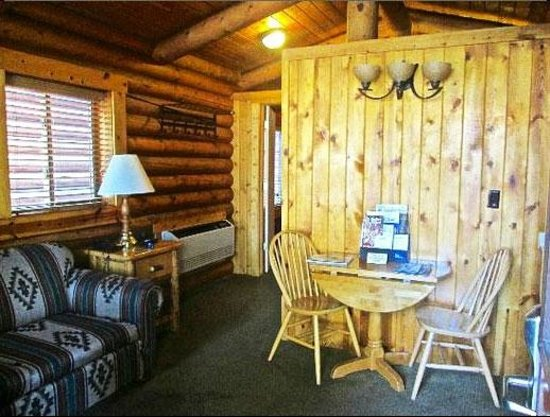 log cabin picture of elk country inn jackson tripadvisor. Black Bedroom Furniture Sets. Home Design Ideas