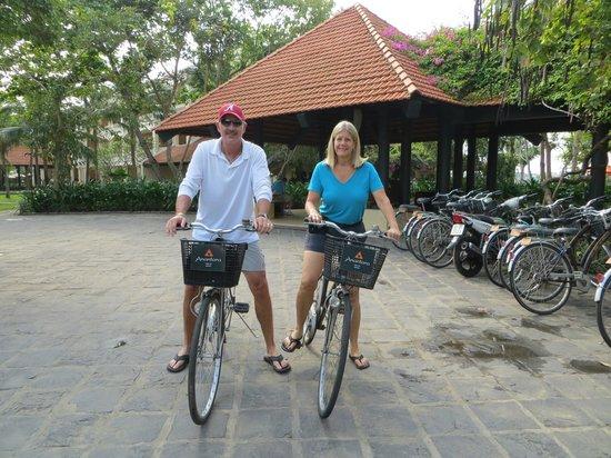 Anantara Hoi An Resort: free bicycles