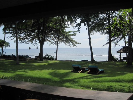 Jeeva Klui Resort: View from my room, right on the loan