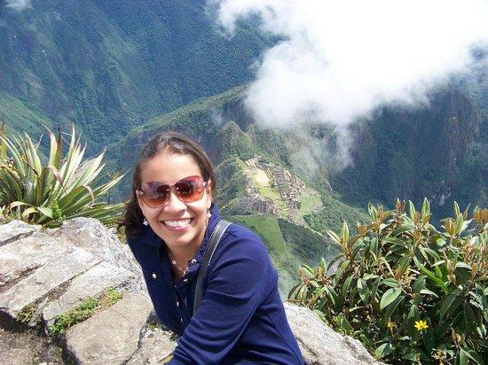 Machu Picchu: Vista de MachuPicchu a 3082mts