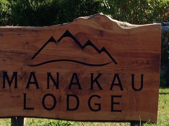 Manakau Lodge: you have arrived