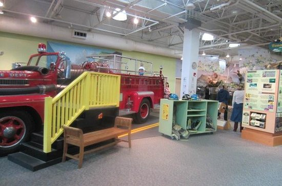 Discovery Center: Fire truck