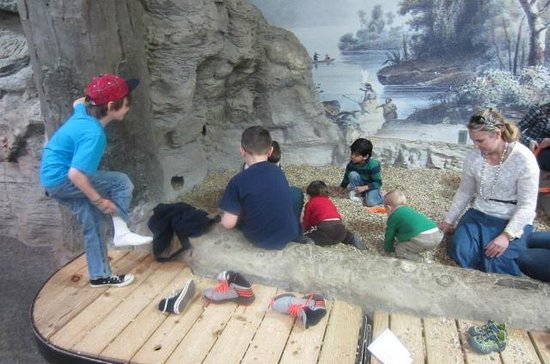 Discovery Center: Digging for bones
