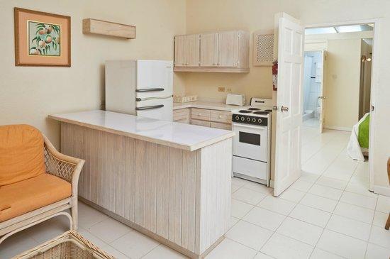 Regent Apartments Barbados: Kitchenette
