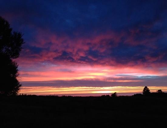Manakau Lodge: breathtaking sunrises