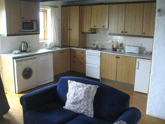 Ballylinny Holiday Cottages: Kitchen