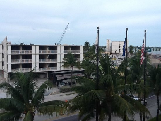 Key West Marriott Beachside Hotel: Eine wirklich tolle Aussicht vom Gang