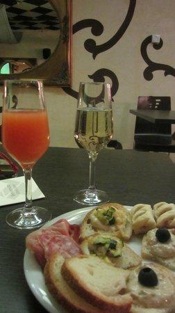 Hotel Lovere Resort & Spa : Aperitivo di benvenuto