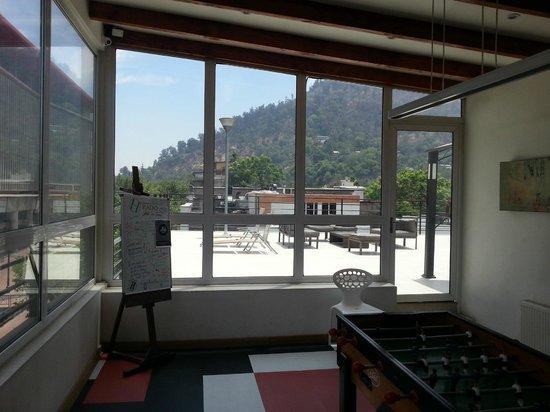 H Rado Hostel : Vista do último andar