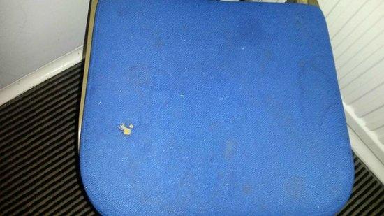 Norfolk Hotel: Chair in room.
