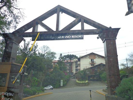 Wish Serrano Resort & Convention : jardim