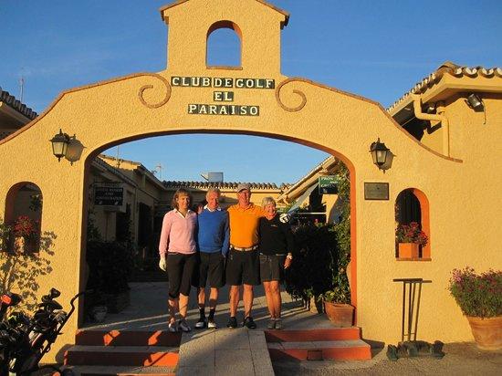 El Paraiso Golf Club : Vi som var där; Jeanette, Göran, Hans och Margareta