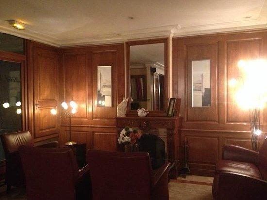 Lobby of Hotel Muguet