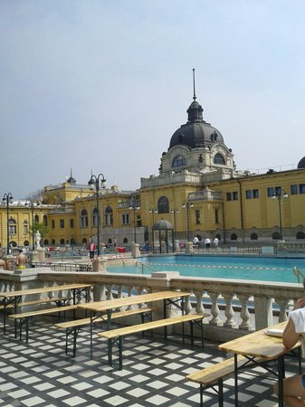Szechenyi Baths and Pool: thermal spas