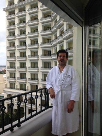 JW Marriott Cancun Resort & Spa: FOTO EN EL BALCON DE LA HABITACION