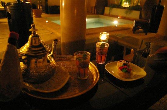 Riad Dar Zahia: Tea