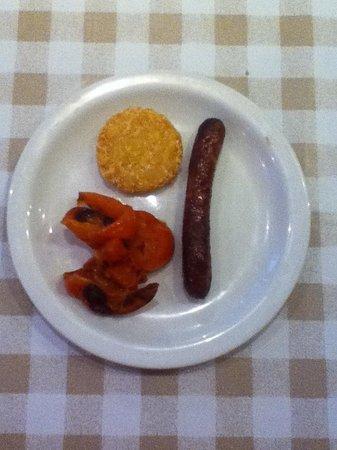 Hotel Terminus Mont-Blanc : Breakfast - not so good!