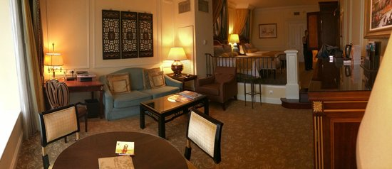 The Venetian Macao Resort Hotel : We stayed at Bella Suite, which was real spacious!