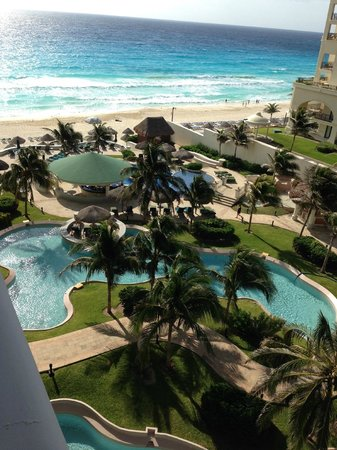 JW Marriott Cancun Resort & Spa: VISTA DESDE LA HABITACION