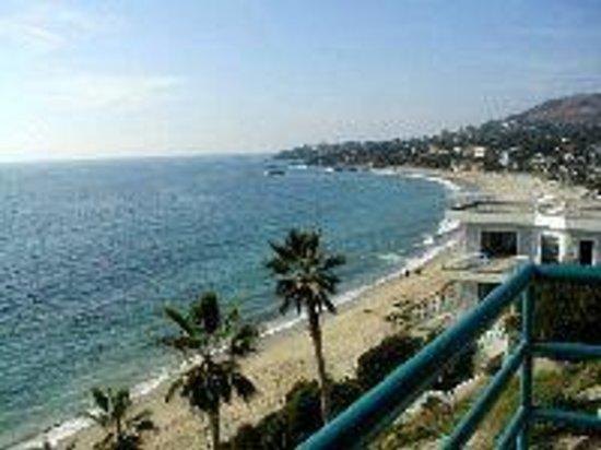 Laguna Surf : View from 3rd floor balcony