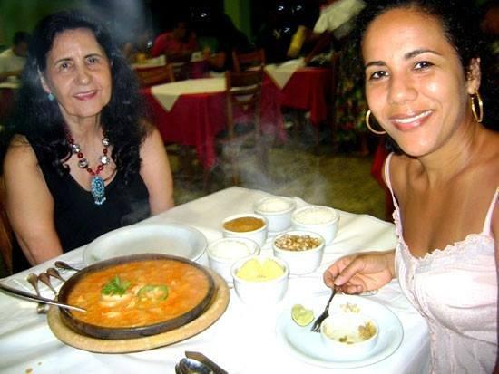 Restaurante Yemanja : Uma bela e deliciosa moqueca de camarão!!!