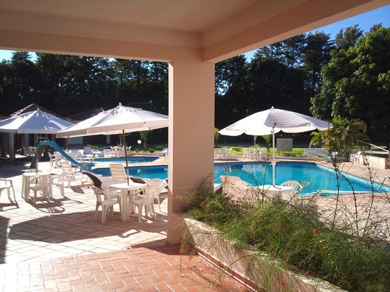 San Juan Eco Hotel: Área da piscina