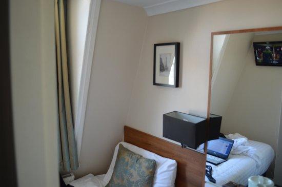 Hanover Hotel Victoria: Размеры номера 2