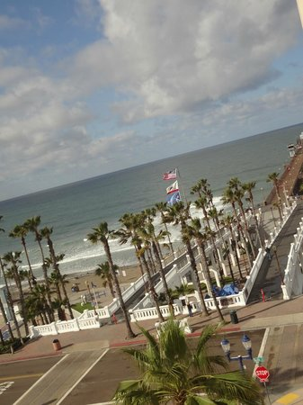 Wyndham Oceanside Pier Resort: view from our 2BR Ocean View Room