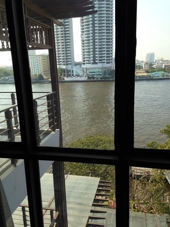 Riva Surya Bangkok : View from our river-view room