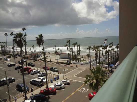 Wyndham Oceanside Pier Resort: view from our 2BR Oceanview room