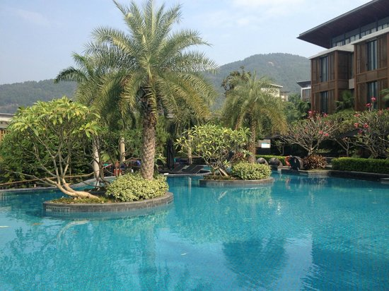 The Mulian Urban Resort Hotels Huadu : piscine