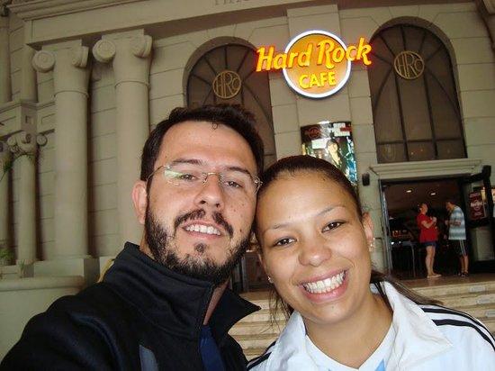 Hard Rock Cafe : Frente do restaurante
