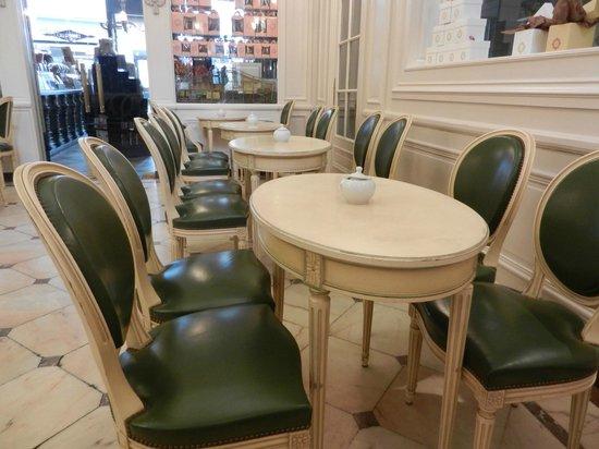 Meert Restaurant : dans le salon
