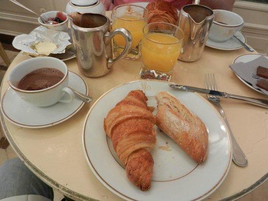 Meert Restaurant : petit dejeuner