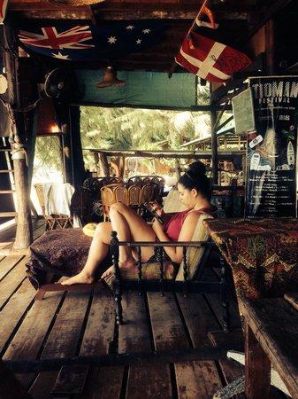 Tioman Cabana Bistro And Tour: Book exchange