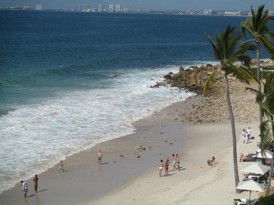 Garza Blanca Preserve, Resort & Spa: Beach from room