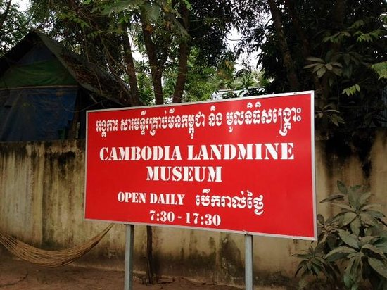 Sign  Picture Of Cambodia Landmine Museum, Siem Reap. Health Signs. Github Signs Of Stroke. Poison Signs. Occupational Signs. Penicillin Signs. Bcba Signs. Dating Signs. Autism Signs Of Stroke