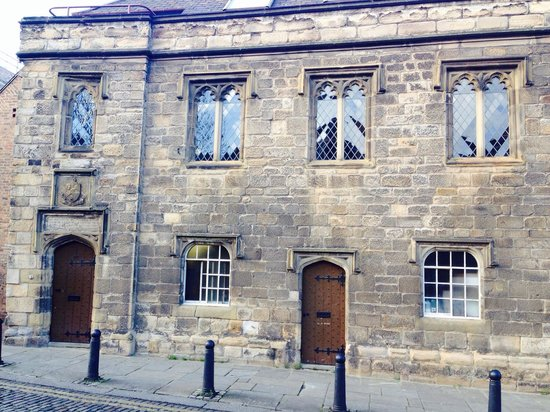 Blackfriars : ...ancient building