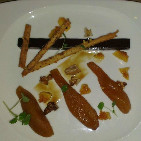 Rouge Tomate : Pear, Chocolate, walnut & apple balsamic