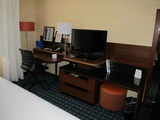 Fairfield Inn & Suites Vernon : View of the room