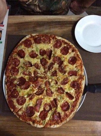 Vesuvio's Pizzeria: Hmmmmmmmm